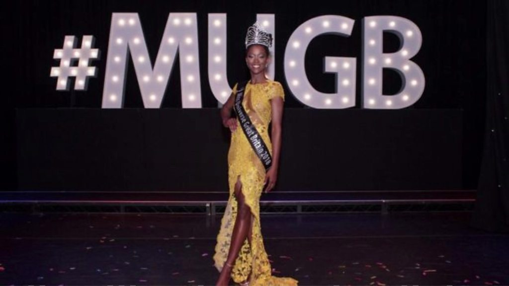 First black Miss Universe GB shows 'diverse beauty' of UK