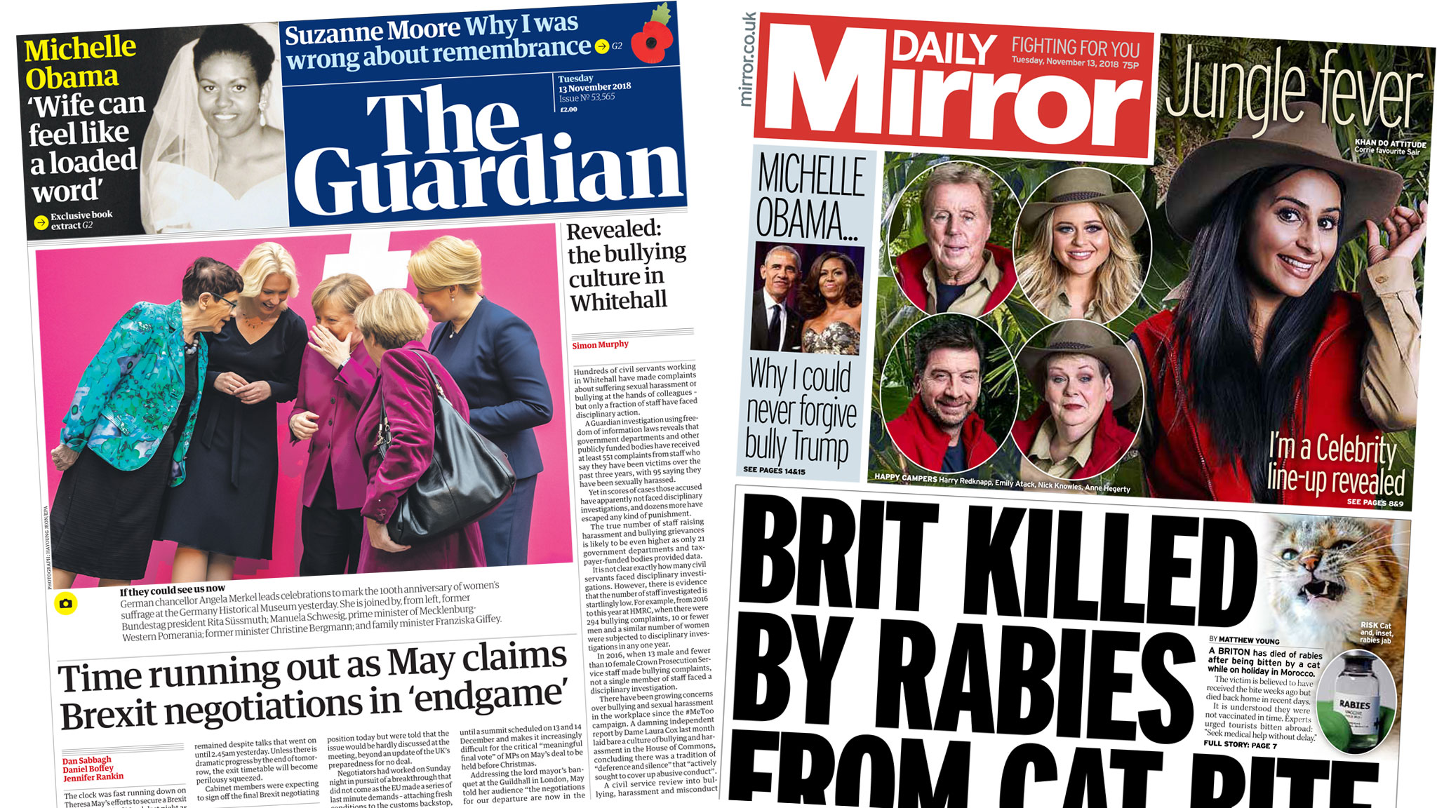 Newspaper headlines: 'Time running out' over Brexit
