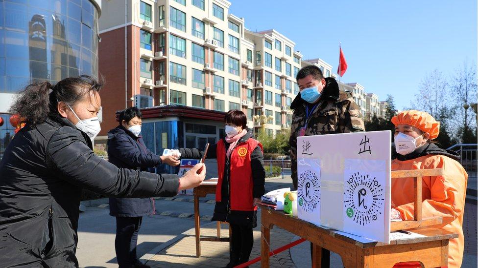 Los ciudadanos chinos están usando aplicaciones para rastrear la propagación del coronavirus