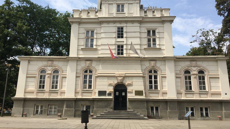 """Zgrada nekadašnje Provizorne meteorološke opservatorije u kojoj je danas smešten Centar za klimatske promene """"Milanković"""""""