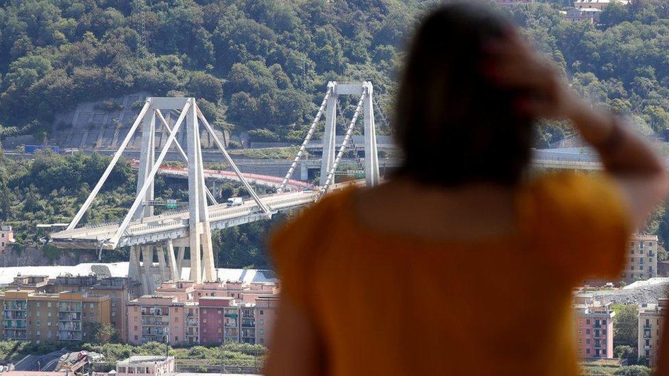 Genoa bridge collapse: 'Miracle escape' stories emerge