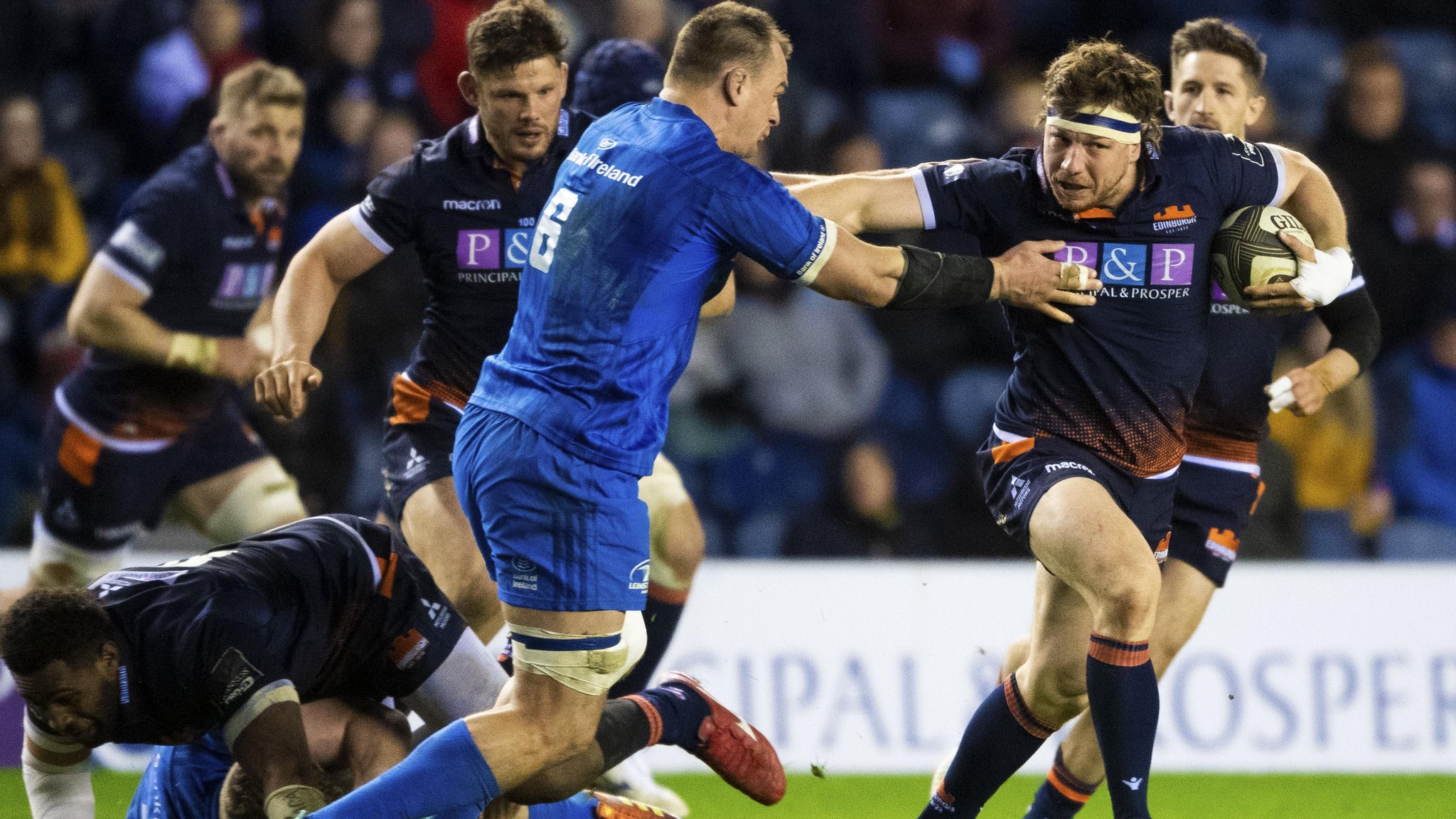 Edinburgh beat Leinster to boost play-off hopes