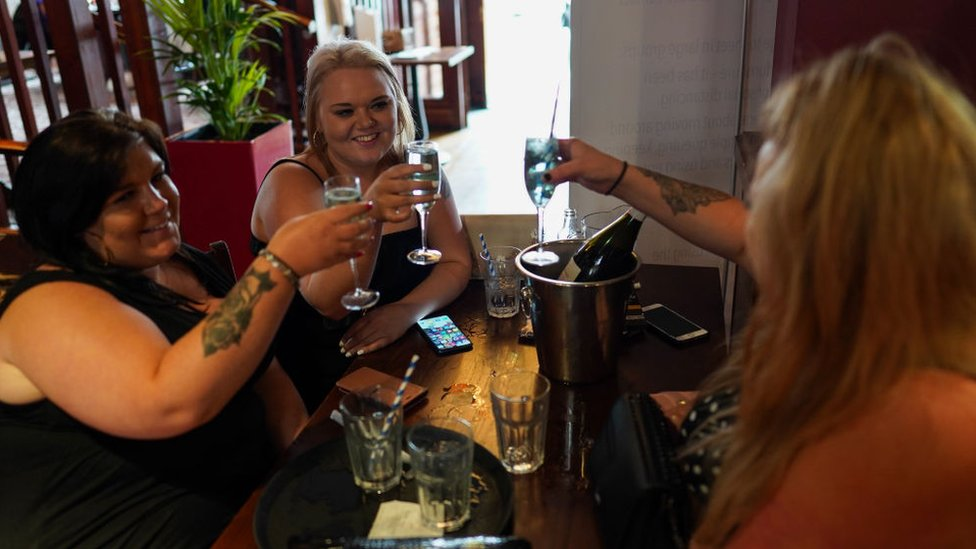 Drinkers is Gosforth July 2020