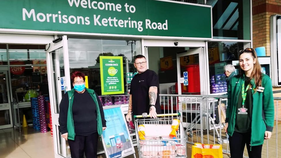 Morrisons in Kettering Road supports Project 16:15