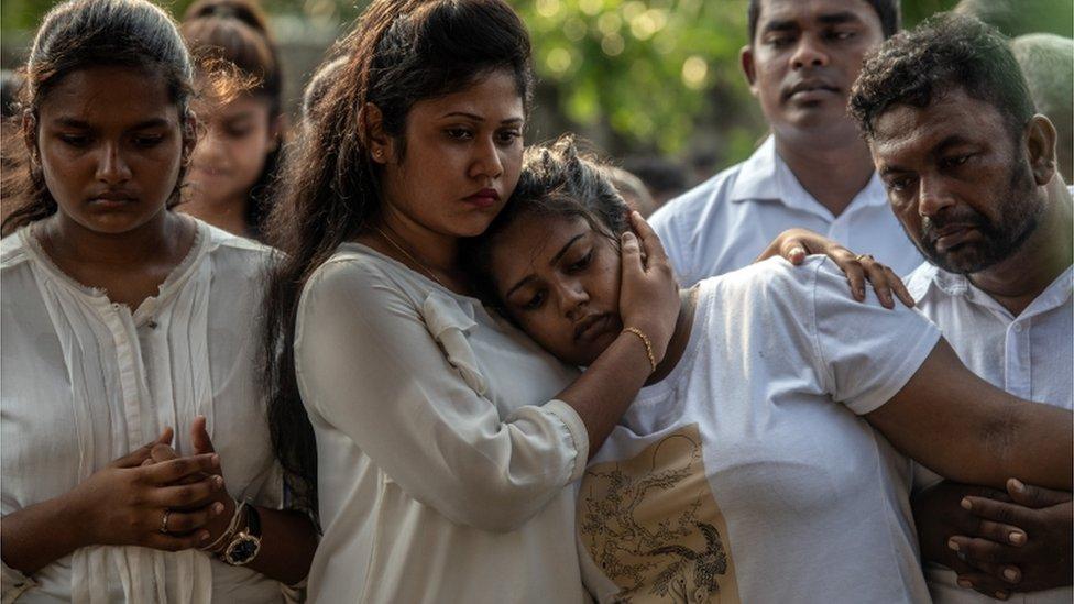 جنازة ضحايا تفجير سريلانكا