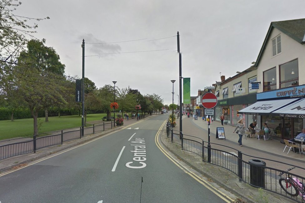 Central Avenue in West Bridgford