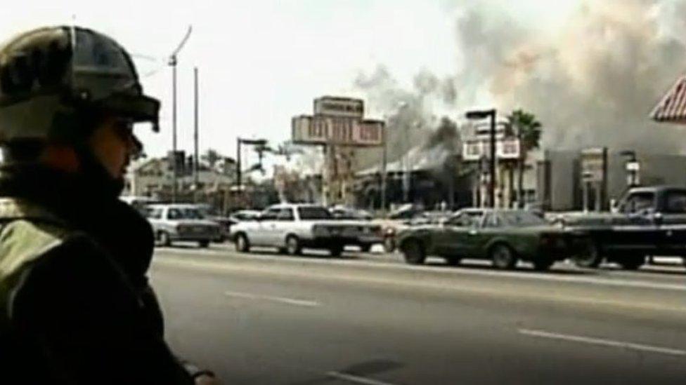 1992年洛杉磯騷亂被認為是20世紀美國最嚴重的種族騷亂