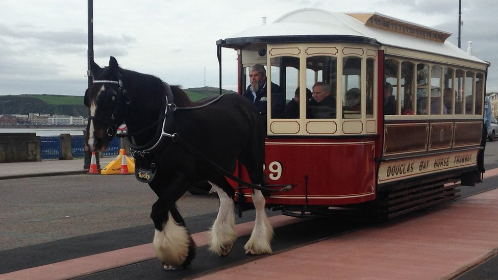 2019 Douglas horse trams up and running after delay