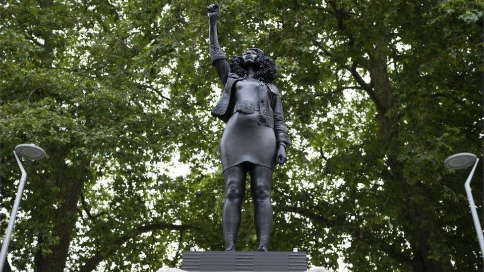 Statue of Jen Reid