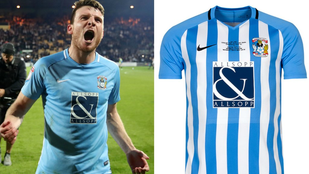 Coventry City: Club to wear one-off kit for League Two play-off final