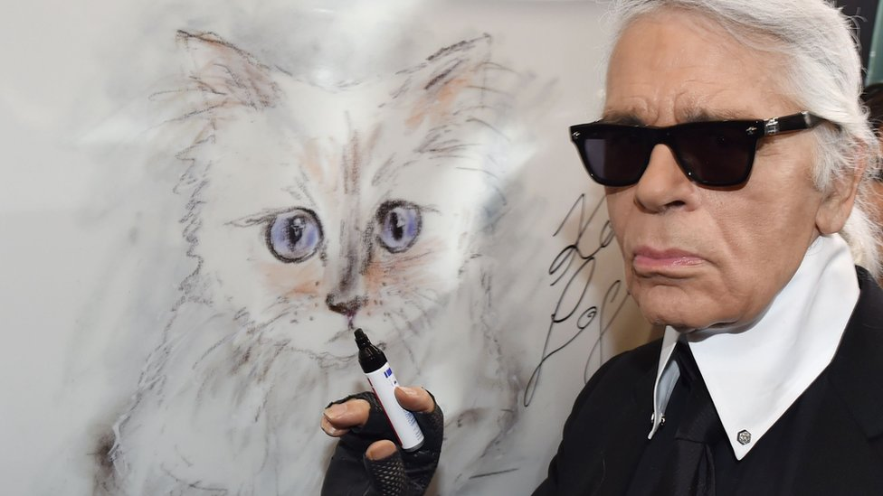 Karl Lagerfeld: Designer's cat Choupette 'named in his will'