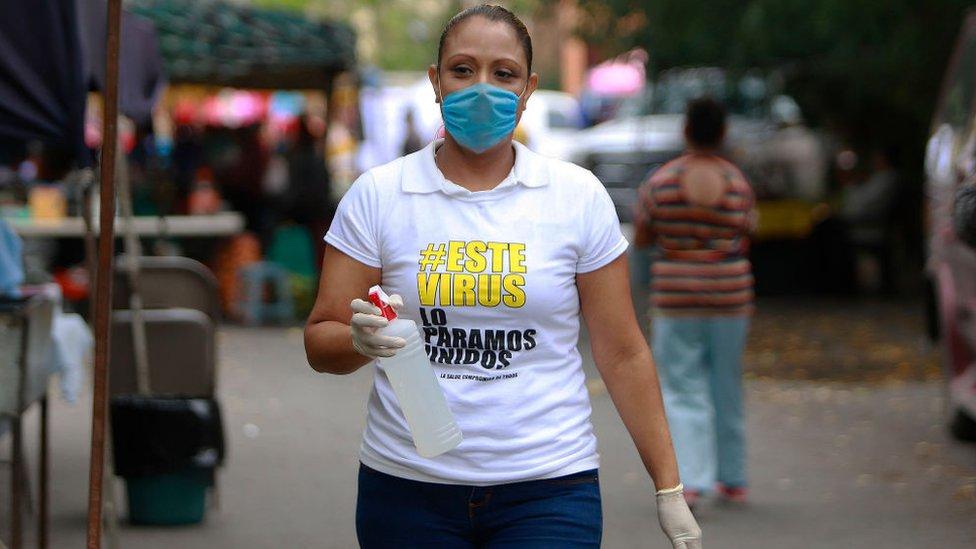 Trabajadora mexicana