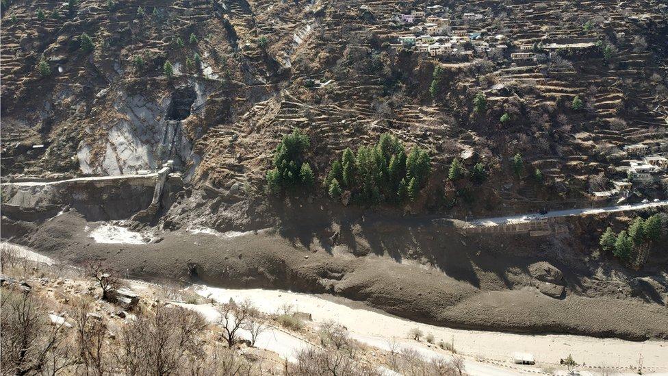 banjir india, himalaya