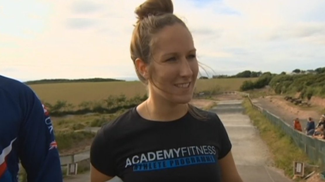 Charlotte Green: Cornish rider's joy at BMX world title