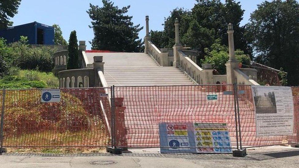 Veliko stepenište Kalemegdan