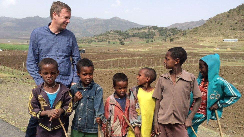 Andrew Harding in Ethiopia