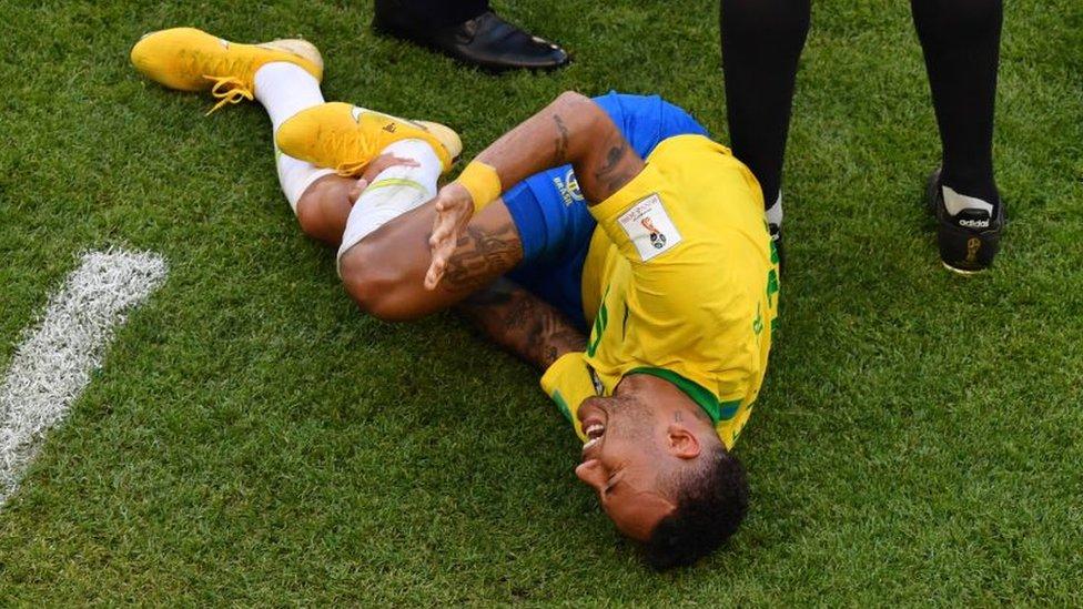 Neymar fue cuestionado por su supuesto histrionismo durante el Mundial de Rusia 2018.