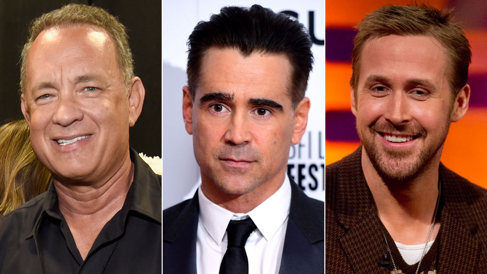 Tom Hanks, Colin Farrell and Ryan Gosling