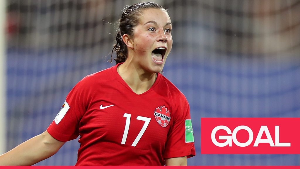 Women's World Cup 2019: Jessie Fleming opens up the scoring for Canada