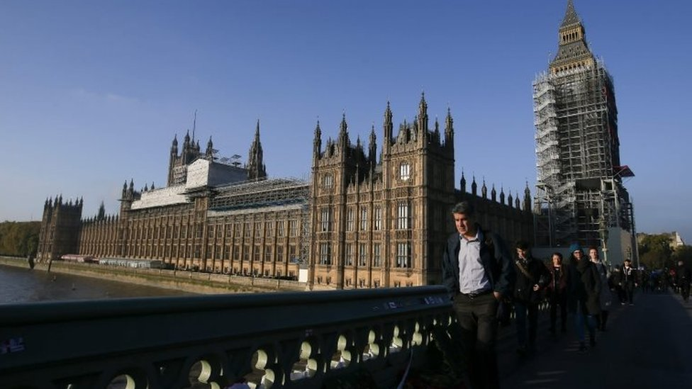 The view from Westminster bridge