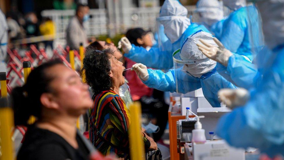 Çin'de koronavirüs testleri