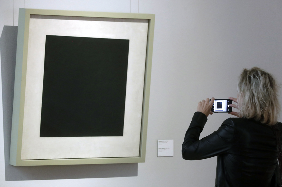 Black Square at Moscow Tretyakov Gallery, 15 Aug 19