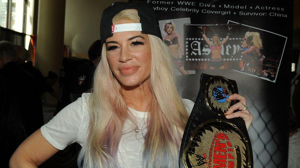 Ashley Massaro en la WWE