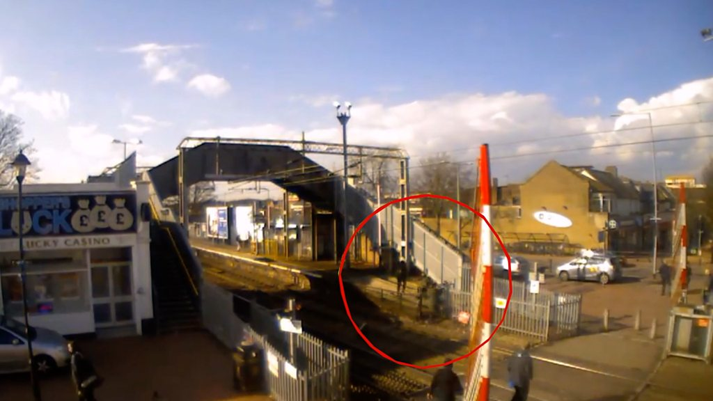 CCTV footage shows 'shocking' scale of level crossing abuse