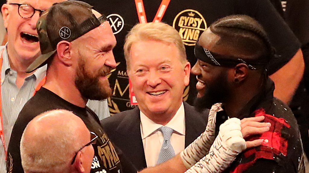 Fury v Wilder in November or December - Warren