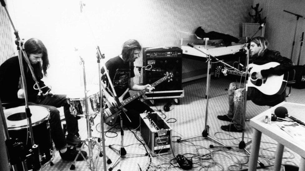 Nirvana albüm kayıtları