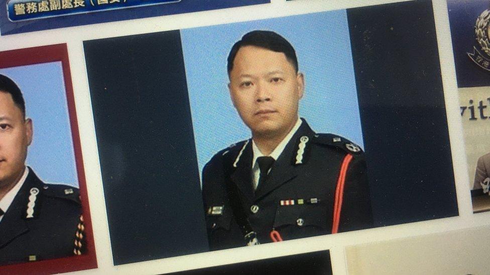 蔡展鵬去年7月獲晉升至香港警務處高級助理處長,掌管當時剛成立的國家安全處。