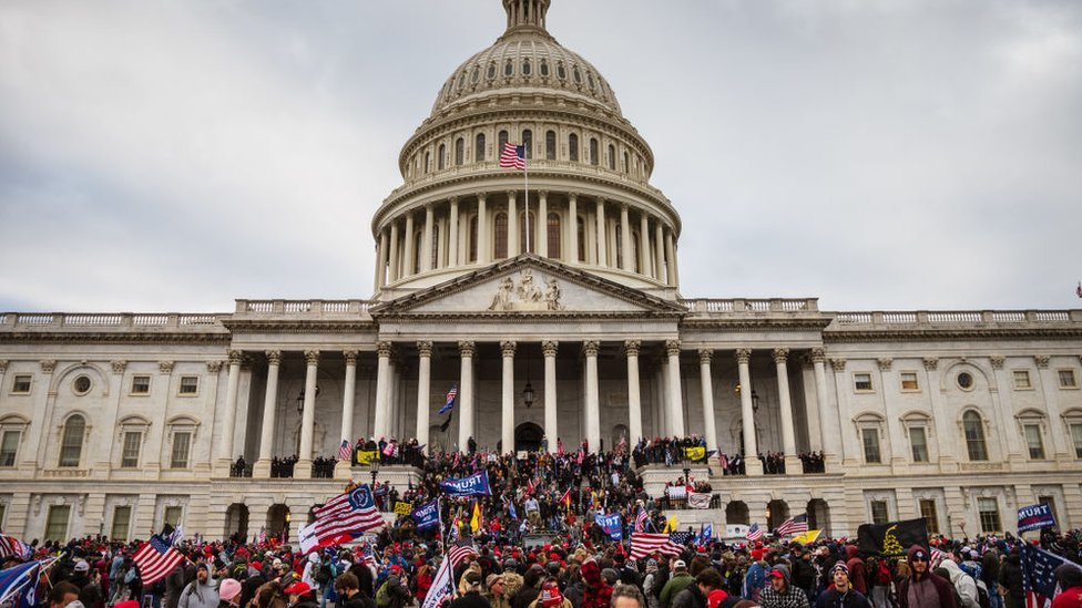 هاجم حشد من مؤيدي ترامب الكونغرس في 6 يناير