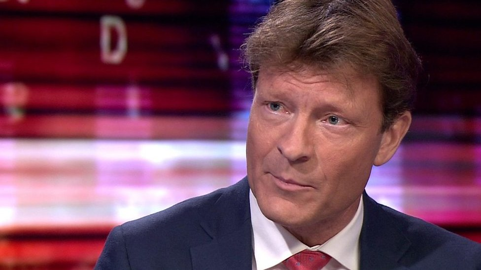 Richard Tice, chairman of the Brexit Party