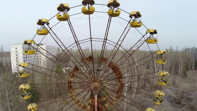 The Ferris wheel at Pripyat