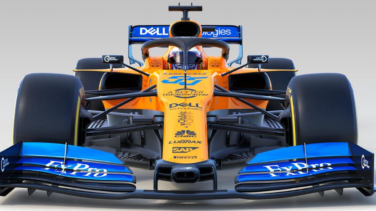 McLaren: MCL34 car for 2019 Formula 1 season unveiled