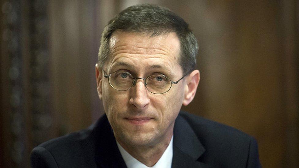 Hungarian Economy Minister Mihaly Varga