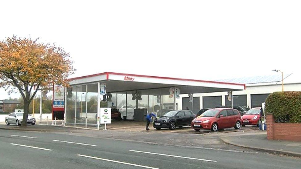 Shiny car wash, Carlisle