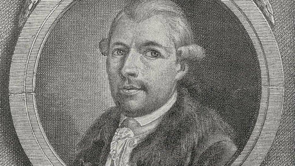 Johann Adam Weishaupt (1748-1830), filósofo alemán, fundador de la Orden de la Sociedad Secreta Illuminati