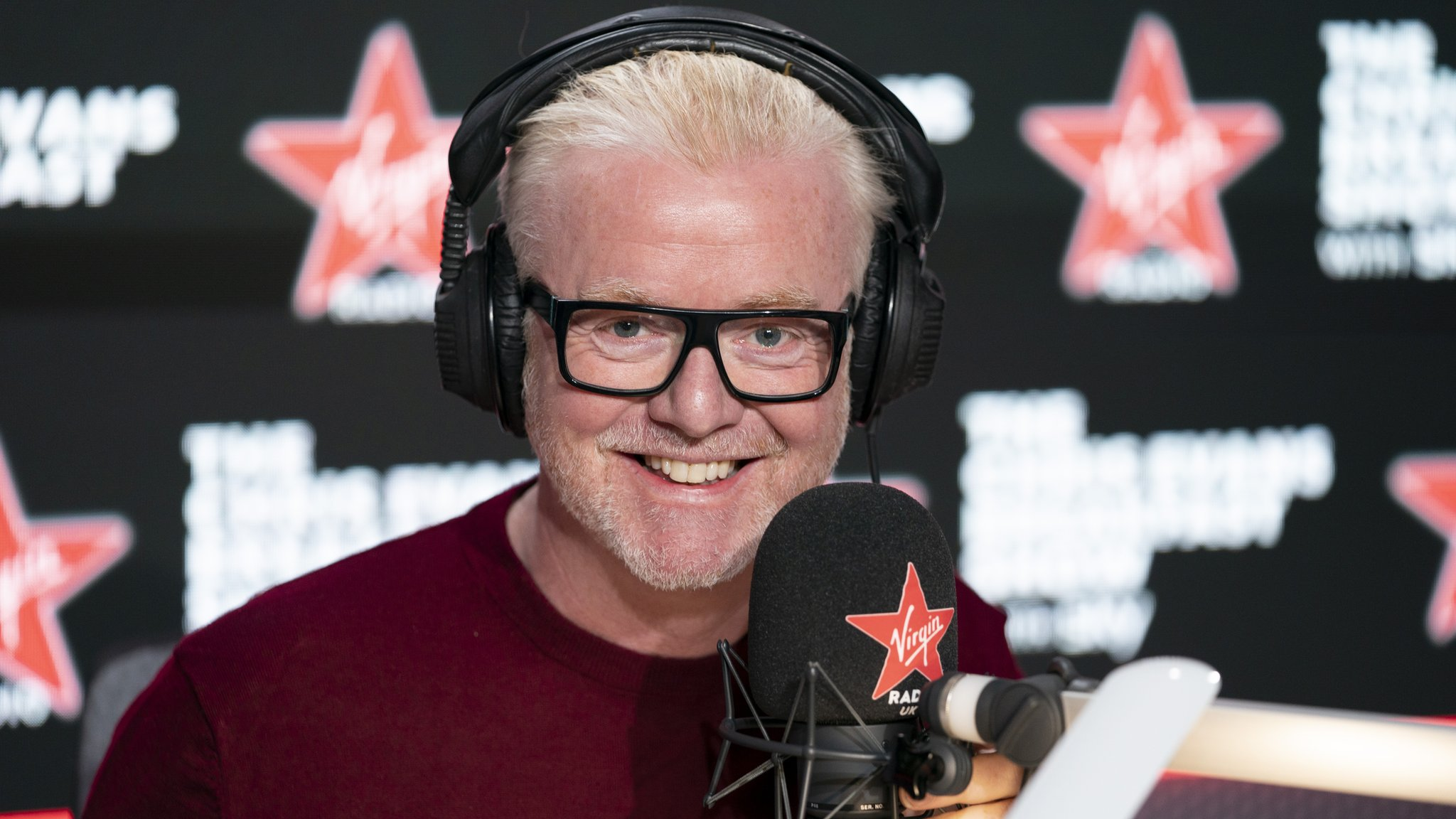 Chris Evans launches new Virgin Radio breakfast show