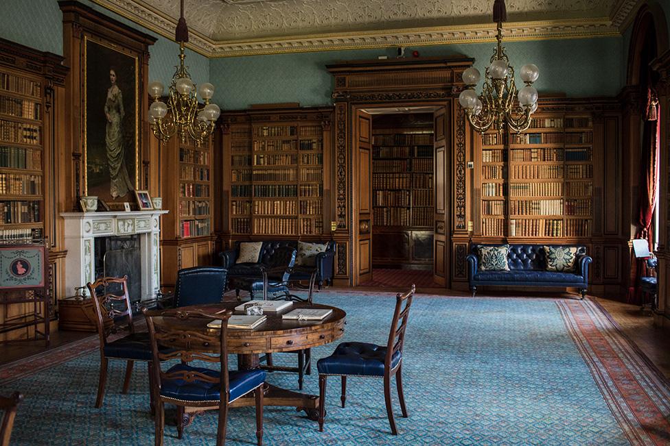Library at Haddo House
