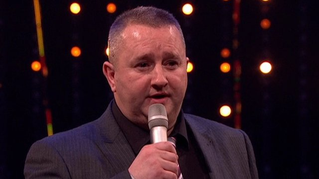 Damien Lindsay received the Unsung Hero award at the BBC Sports Personality of the Year awards in his native Belfast
