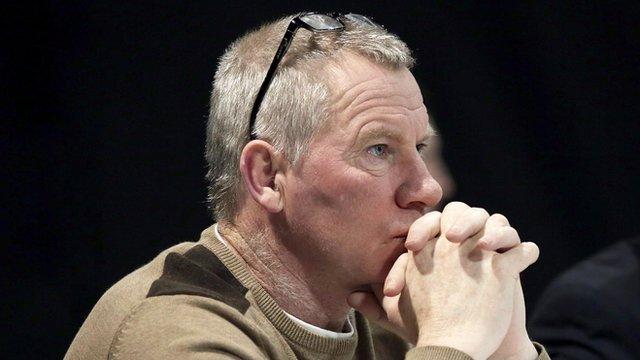 Derry coach Tony Scullion