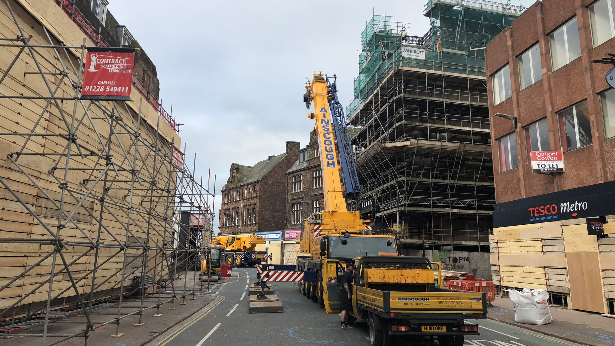 Carlisle councillors discuss future of derelict hotel