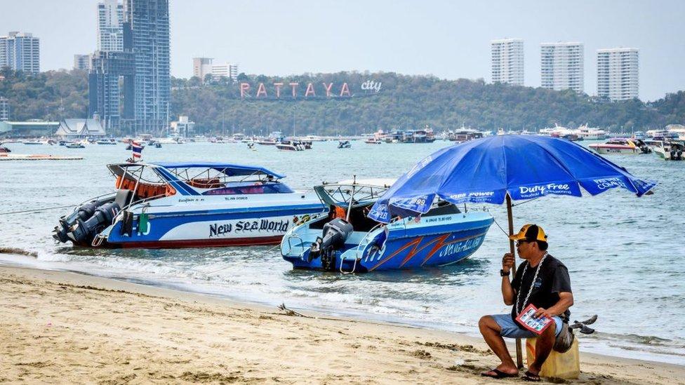 Plaža koja je magnet za kineske turiste sada zvrji prazna