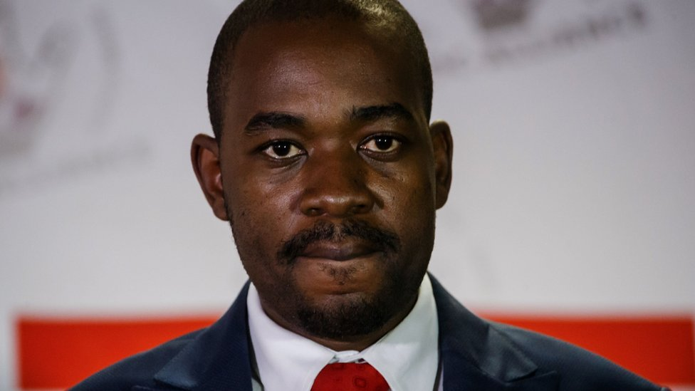 MDC Alliance leader Nelson Chamisa