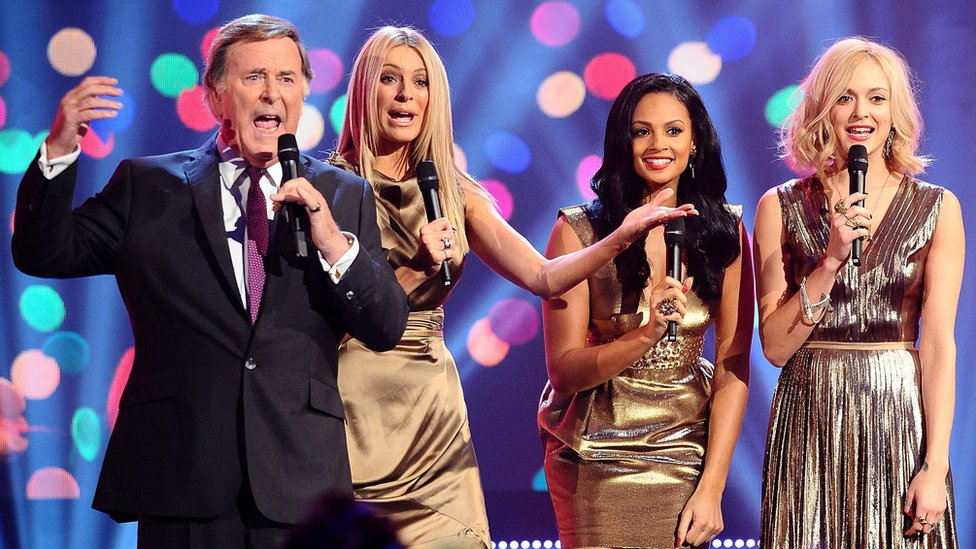Sir Terry presenting Children in Need in 2011
