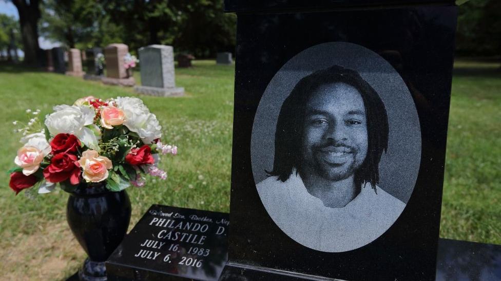 Philando Castile's grave