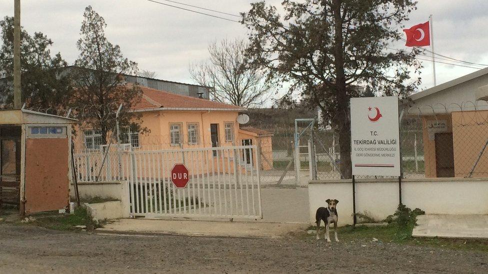 Tekirdag detention centre