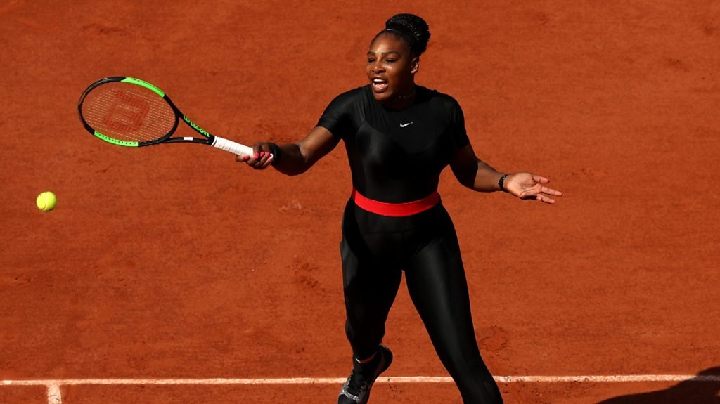 Serena Williams: Catsuit is 'my way of being a superhero'