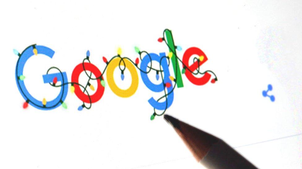 Google's Christmas 2020 logo